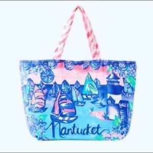 Lilly Pulitzer Destination Beach Tote Nantucket
